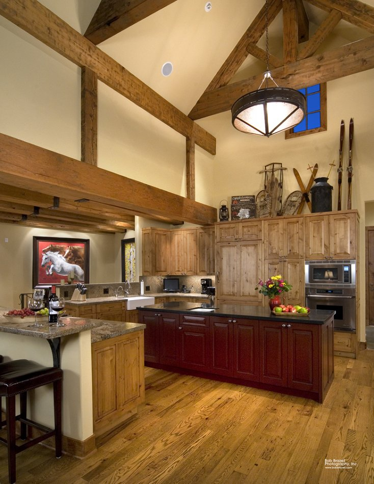 Mt Crested Butte custom kitchen