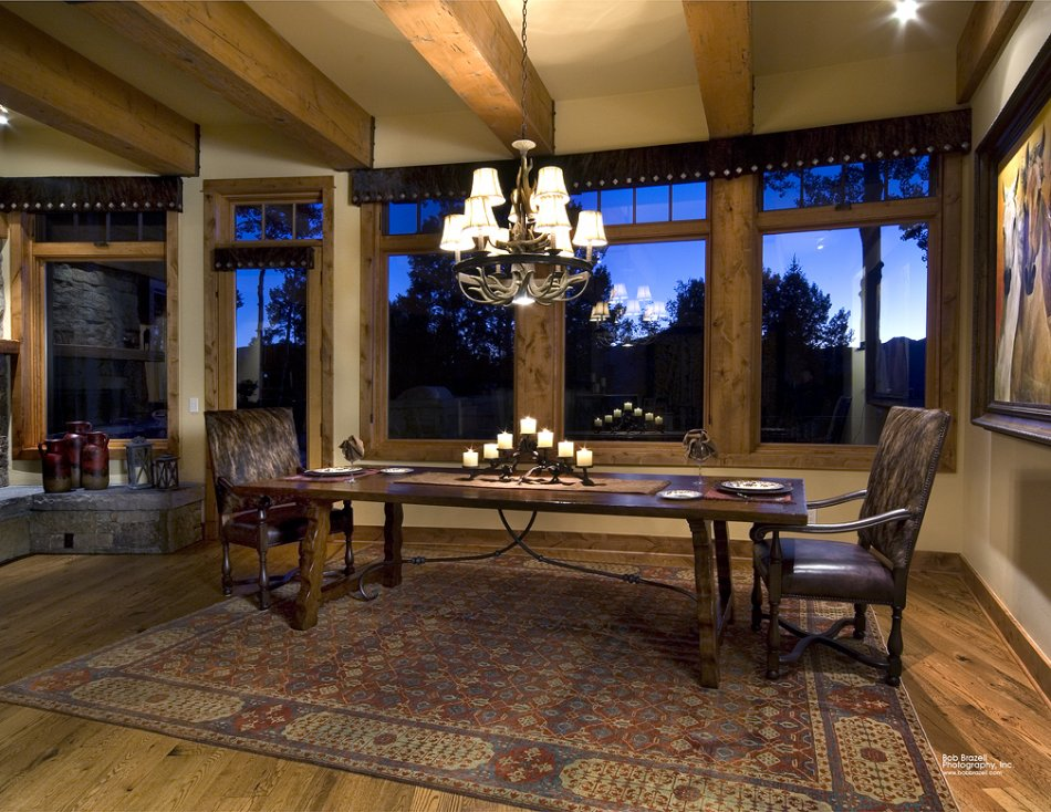 Mt Crested Butte custom dining room