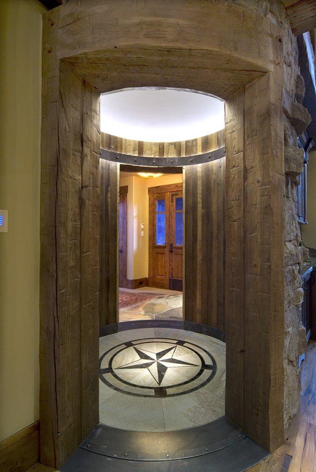 Grant Lake custom rotunda