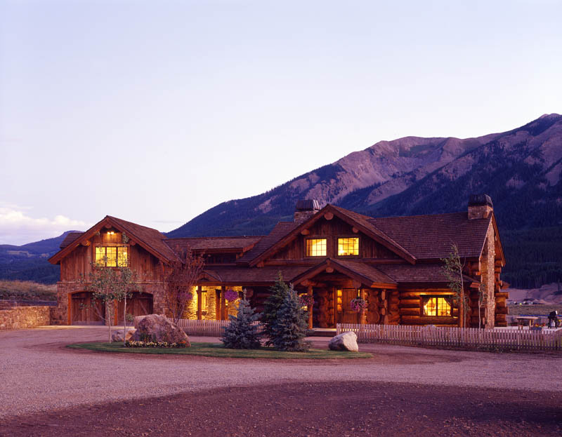 Red Feather Ranch near Crested Butte